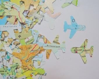 300 plane Atlas confetti