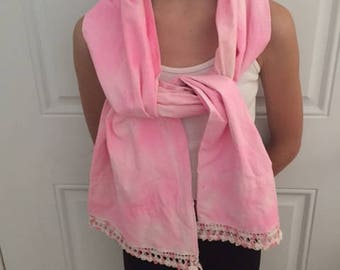 Pink Pillowcase Scarf