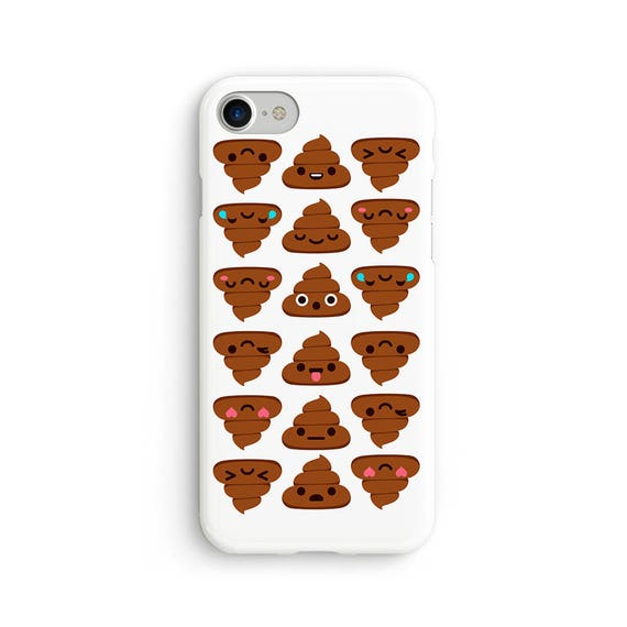 Poo emoji  iPhone X case - iPhone 8 case - Samsung Galaxy S8 case - iPhone 7 case - Tough case 1P045