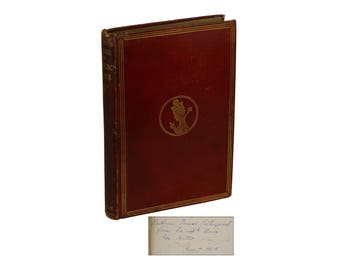 Through the Looking-Glass, and What Alice Found There ~ LEWIS CARROLL ~ SIGNED Presentation Copy ~ First Edition Later Print 1877 Wonderland