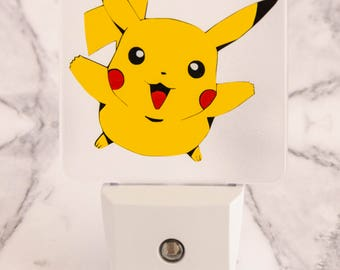 Pokemon Pikachu LED Night Light