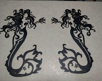 Beautiful mermaid wall art