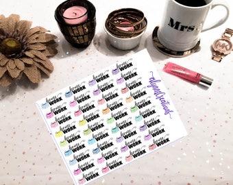Homework- Planner/ Calendar Stickers