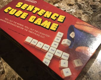 Scrabble Cube Game