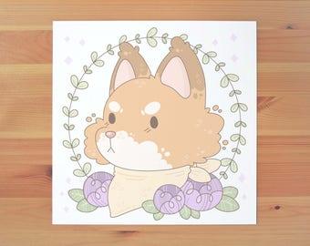 Forest Friends - Mr Fox Print