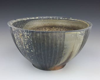 Wood Fired Bowl / Cereal Bowl / Soup Bowl / Wood Fired Ceramics / Handmade Pottery