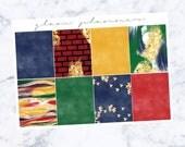 PRE-SALE! Lumos Plain Full Box Add On (Glam Planner Stickers for Erin Condren Life Planner)
