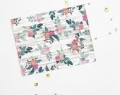 PRINTABLE Sheet - Floral Love Girl