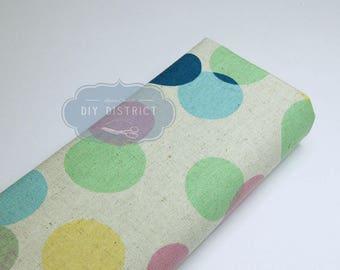 Modern Japanese canvas fabric.