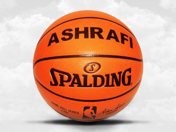 Customized Personalized Basketball Spalding Indoor/Outdoor Official Size Gift