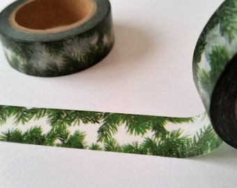 Jungle Palm fronds  Washi Tape