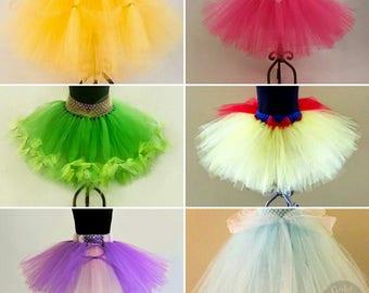 Princess Party Skirt Pack! 5-10 Skirts with choices of: Snow White, Belle, Ariel, Rapunzel, Anna, Elsa, Cinderella, Aurora, Tiana, & Mulan.
