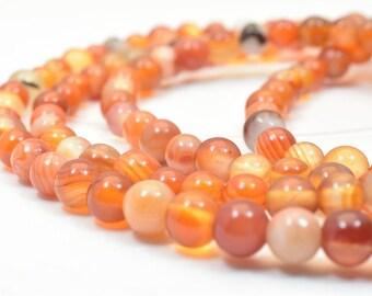 Agate Gemstone Beads Round Beads Mixed Sizes 4/5/6mm Natural Stones Beads Healing chakra stones Jewelry Making Item# 789222065935