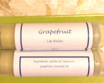 Lip Balm--7 Scents and/or unscented Dandelion/Plantain, or Unscented with Jojoba oil