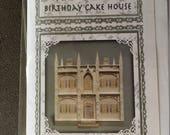 """Robin Betterley Design """"Birthday Cake House Kit"""". (M)"""