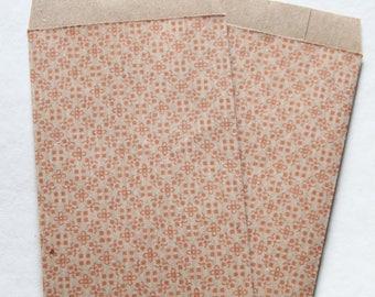20 paper bags kraft paper bags kraft paper pouches marriage Ethnic Candy bags Sas en papier