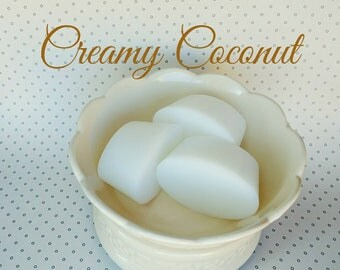 Creamy Coconut Wax Melt - Wax shot - Candle Melt - Tart Melt - Home Fragrance - Coconut Candle Melt- Highly Scented Wax - Coconut Candle