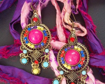 Bohemian inspired earrings