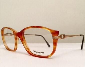 moving sale % Vintage YSL 80's Eyeglasses Tithon Frames