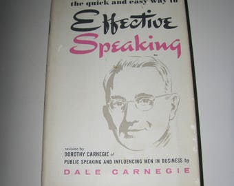 Effective Speaking by Dale Carnegie