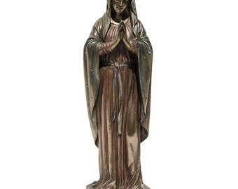 "11.75"" Blessed Virgin Mary Figurine"