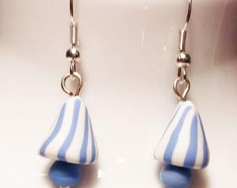 ♥ berlingots Fimo polymer clay earrings and beads ♥