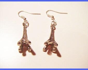 Earrings silver paris eiffel tower ♥ ♥