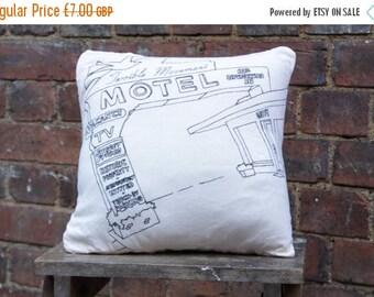 Handmade Motel Cushion