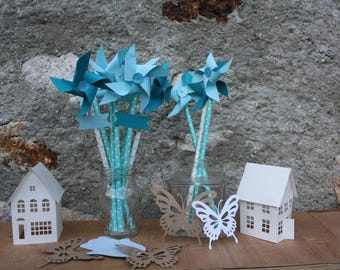 Windmills with or without name tag