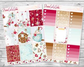 christmas planner sticker kit