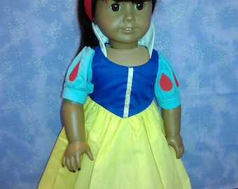 Snow White dress for American Girl