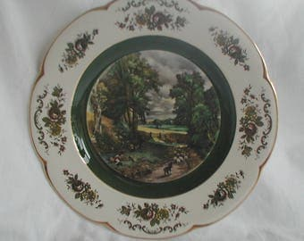Wood and Sons Ascot Service Plate Collectable Wall Plate