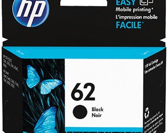 HP 62 Black Ink Cartridge - C2P04AN#140