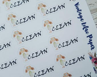 Dobby Clean Planner Stickers: Perfect for any size planner!