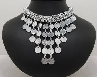 SARAH COVENTRY Mini Bib Necklace