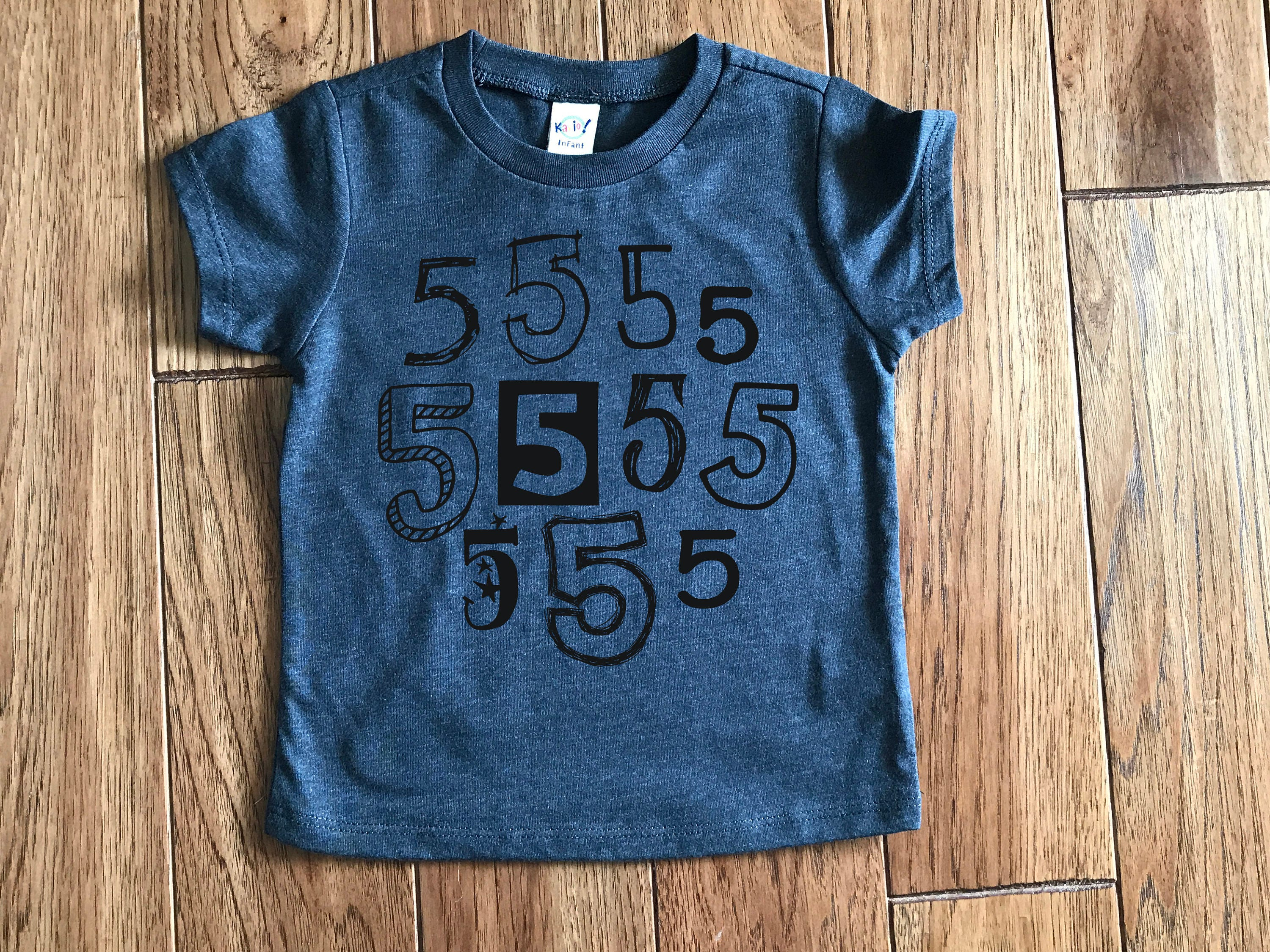 Birthday numbers toddler baby boy clothes baby boy t