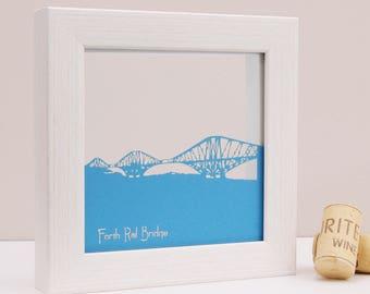 Forth Rail Bridge Mini Wall Art