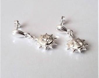 Sterling Silver Earrings, Stud Earrings, Small Earrings, Dangle Earrings, Charm Earrings, Boho Earrings, Minimalist Everyday Earrings.