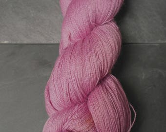 Baby Suri, Merino and Silk Naturally Dyed Skein