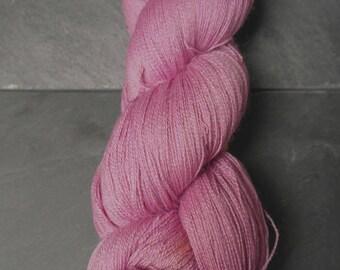 Baby Suri, Merino and Silk Naturally Dyed Skein