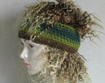 Dread Band Dreadlock Accessories Headband Tube Hat Knitted Dreadlock Colorful Womens Knit Hat Womens Hat Head Knit Hat Hair Accessory