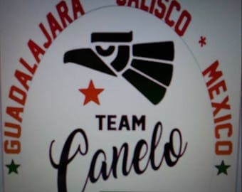 Team Canelo Fight Shirt