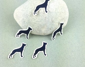 "Small sticker Kit ""Malinois"" silhouette"