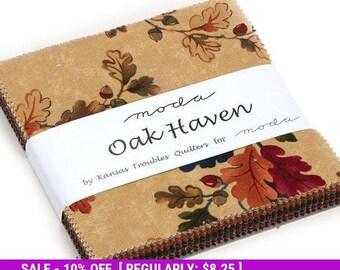 SALE! Oak Haven - Charm Pack - MODA - Kansas Troubles