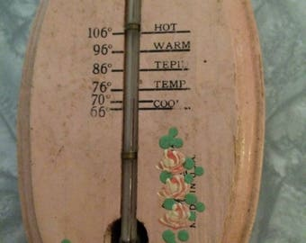 Vintage Baby Bath Thermometer