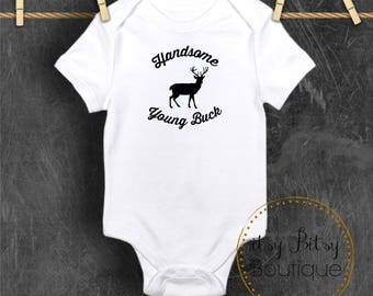 Handsome Young Buck Onsie