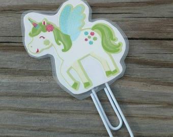 Unicorn planner clip, Unicorn paper clip, Unicorns, Bookmark bookmarks, Unicorn accessories, Unicorn decorations, Cute planner clip