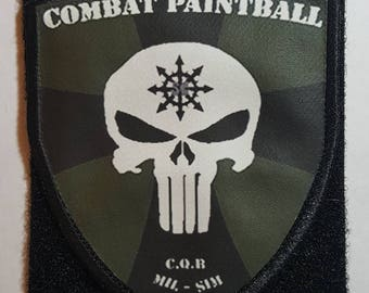 Combat Paintball SOC Patch