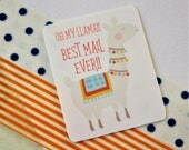 Llama Mail Stickers