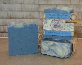 Maine Blueberry Jam handmade soap